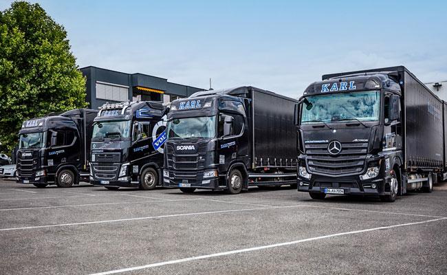 Karl Transporte Kühltransporte Lebensmittelverkehr Güterverkehr Bamberg